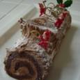 2010年12月レッスン チョコロールケーキ(ノエル風)