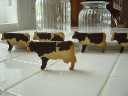 2010年 7月レッスン 牛クッキー