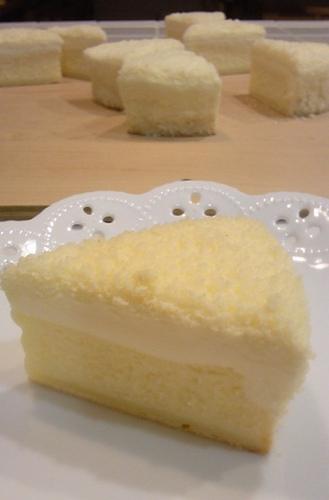 2011年 11月レッスン 2層のチーズケーキ(ドゥーブルフロマージュ)