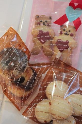 2015年2月 クマクッキー・マーブルリングケーキ・米粉クッキー