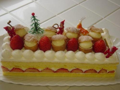 12月・2008・クリスマスケーキ・レッスン