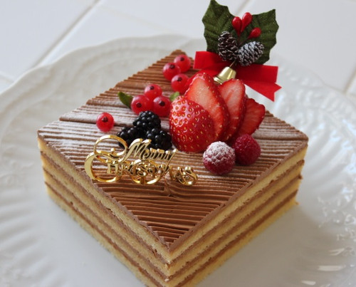 コーヒークリームのケーキ