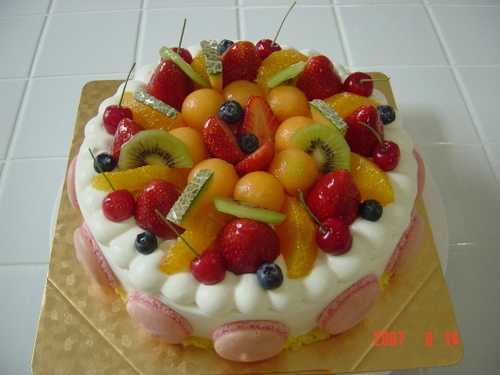 2007・6月バースデーケーキ